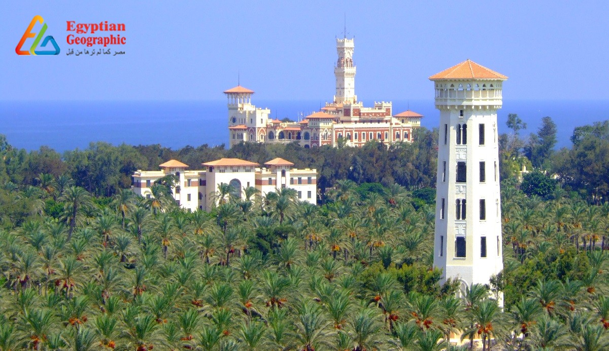 Montaza Palace: that combines the Byzantine Architecture and the Gothic and Islamic