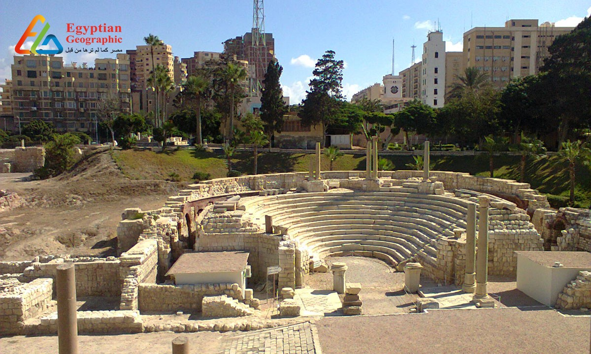 CThe Romanian Theatre: an architectural masterpiece of three civilizations in Alexandria