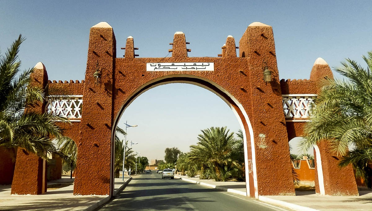 CThe Red Oasis: an Algerian pearl in the heart of the Great Sahara
