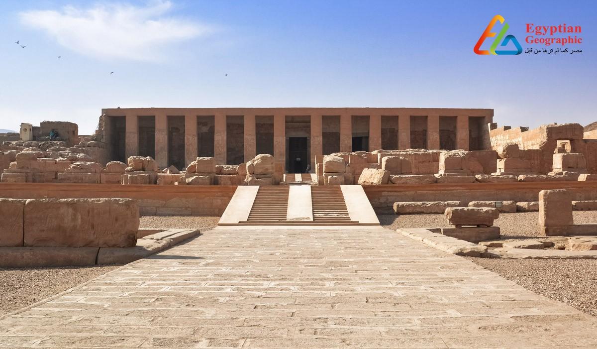 معبد أبيدوس: قصة العشق الأبدي لإيزيس وأوزوريس